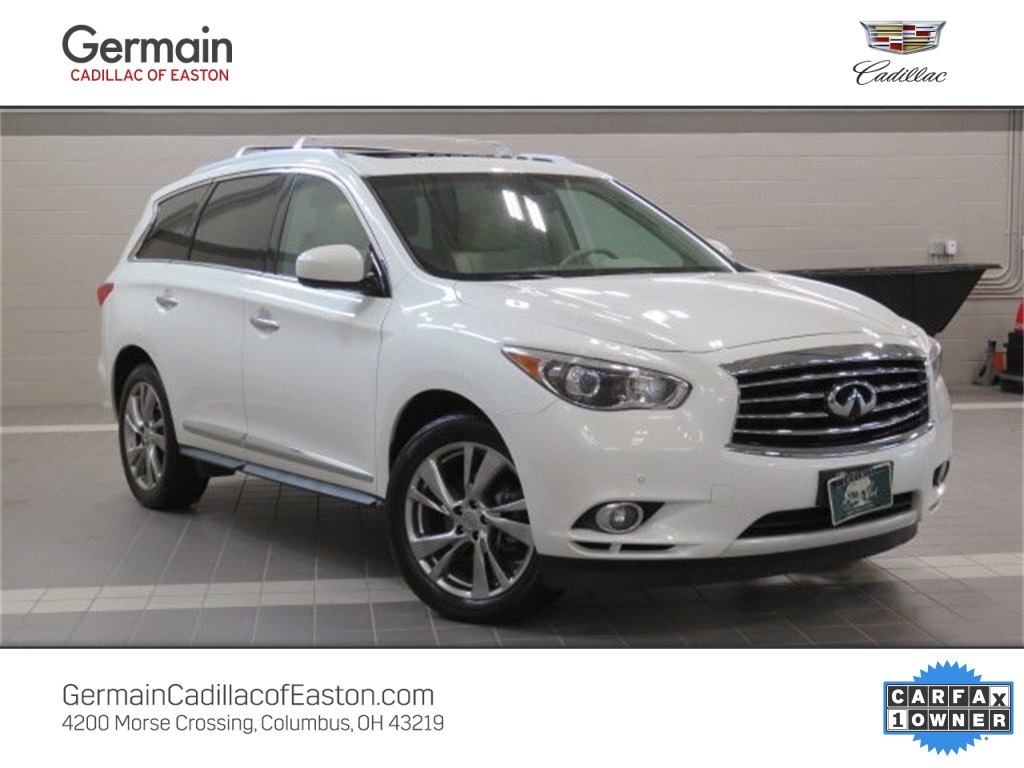 Pre-Owned 2013 INFINITI JX35 w/ Deluxe & Technology Pkgs