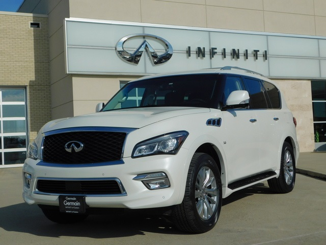Pre-Owned 2016 INFINITI QX80 4WD