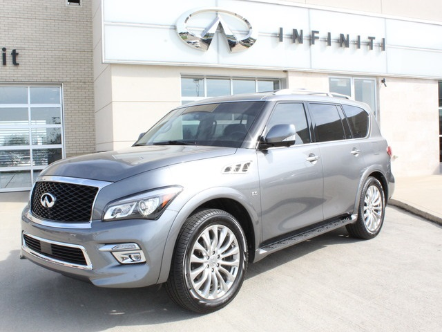 Pre-Owned 2016 INFINITI QX80 AWD w/ Theater Package