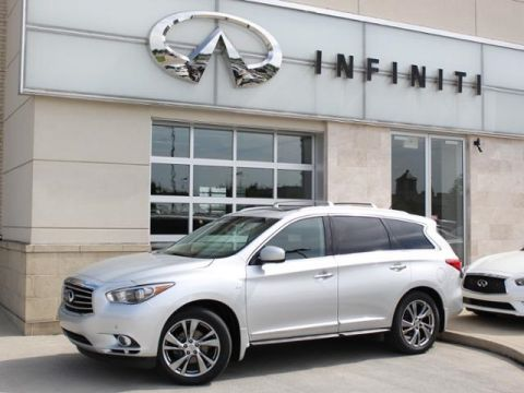 Pre-Owned 2015 INFINITI QX60 w/ Deluxe Touring & Theater