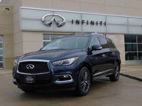 Certified Pre-Owned 2017 INFINITI QX60 AWD w/ Deluxe Technology Pkg
