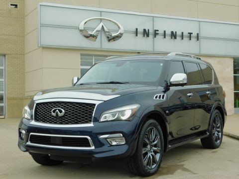 Pre-Owned 2015 INFINITI QX80 AWD w/ Deluxe Technology Pkg