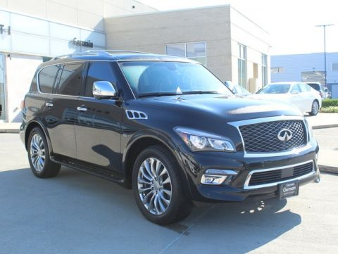 Pre-Owned 2016 INFINITI QX80 AWD w/ Deluxe Technology Pkg