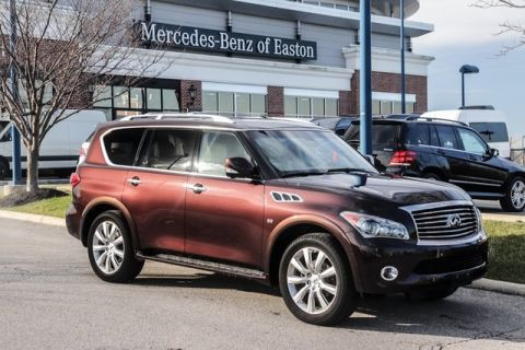 Pre-Owned 2014 INFINITI QX80 AWD w/ Theater Package