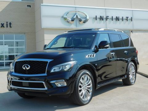 Pre-Owned 2017 INFINITI QX80 AWD w/ Theater Package